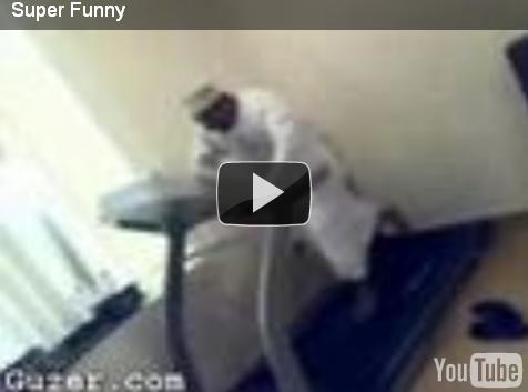 Funny video – Can this guy run fast enough?